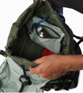 best backpacks for traveling - Arcteryx Brize