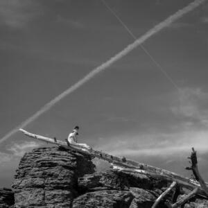 Best Hikes Around Lake Tahoe Picnic Rock 2 PC NH Blevins via Flickr