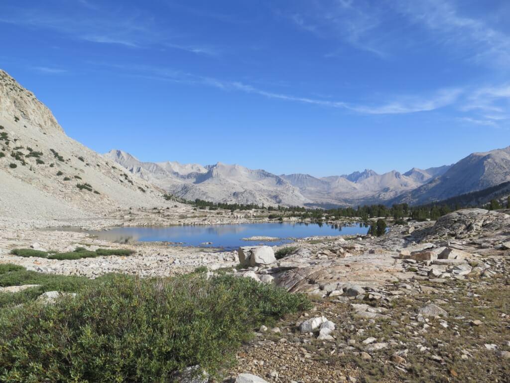 tips for hiking the john muir trail - alpine lake
