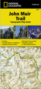 hiking the john muir trail - tips from my trip national geographic john muir trail map