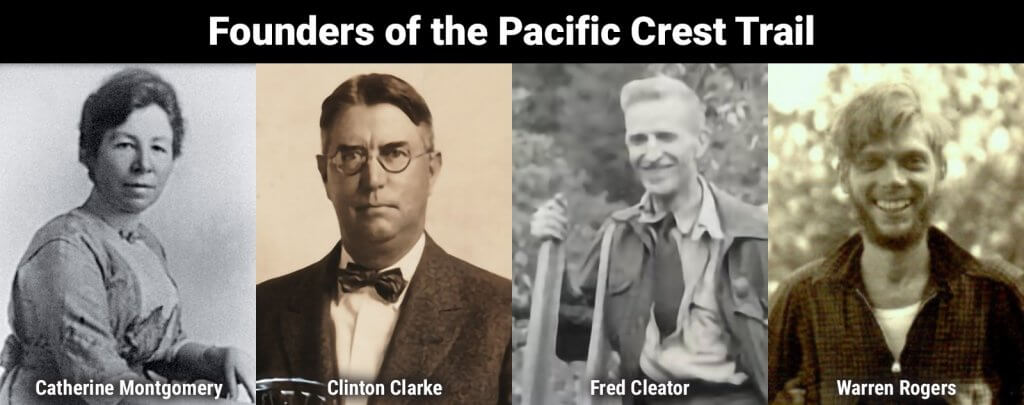 The history of pacific crest trail - founders of the pct