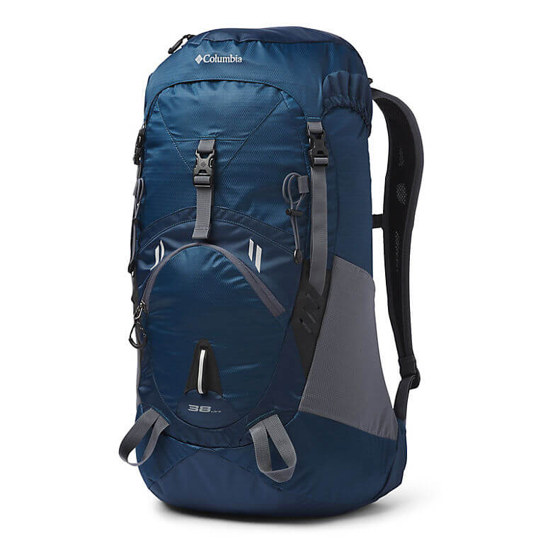 Columbia Outdoor Adventure Backpack Review - Pack Front