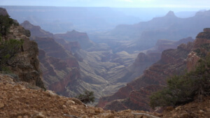 three hiking trails in the grand canyon - point imperial north trail