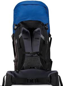 arcteryx bora 50 backpack - back