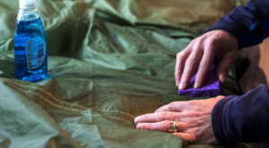 five tent maintenance tips - cleaning