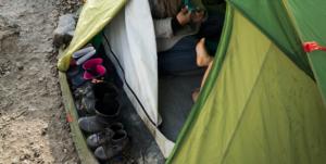 five tent maintenance tips - general shoes