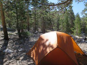 how to choose a campsite - camp 3