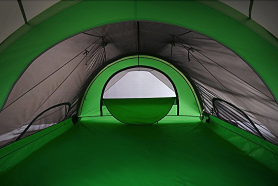 sierra designs flash 3 tent review - interior