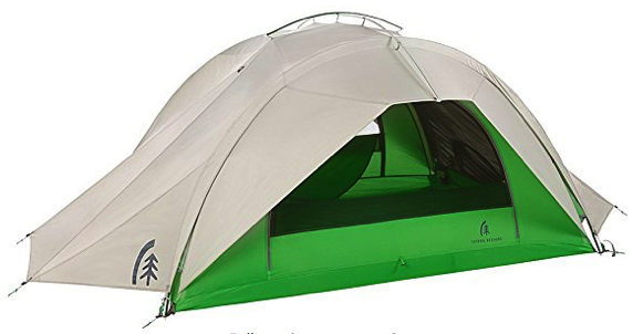 sierra designs flash 3 tent review - front pic 2