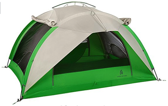 sierra designs flash 3 tent review - front pic
