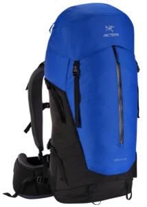 the arcteryx bora 50 backpack - front