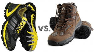 how to choose hiking shoes - shoes vs boots
