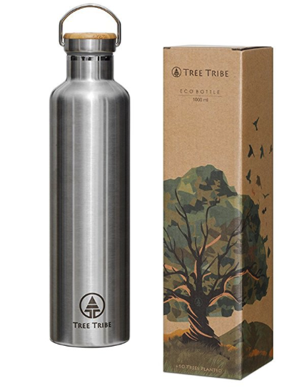 insulated bpa free water bottles - tree tribe