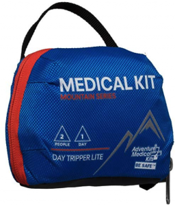 best backpacking first aid kits - amk day tripper lite