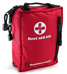 best backpacking first aid kits - surviveware