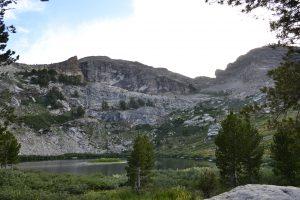 hiking the ruby mountains - Island Lake