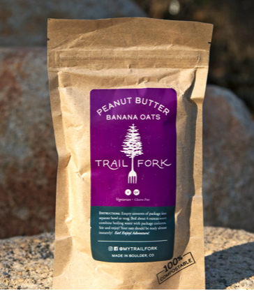 TrailFork Product Review - Peanut Butter Banana Oats