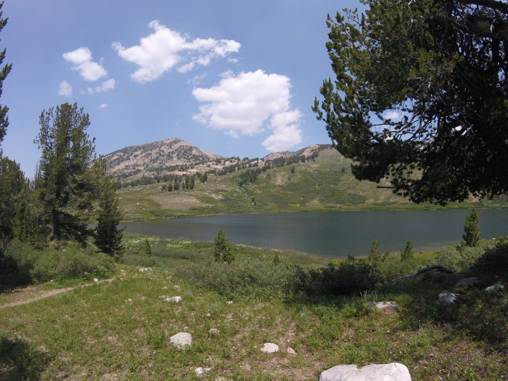 hiking the ruby mountains - favre lake