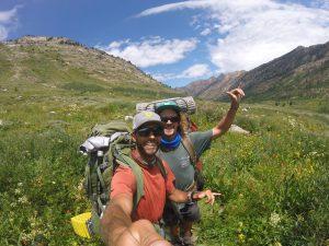 hiking the ruby mountains - roads end trailhead