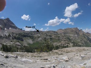 hiking the ruby mountains - pass 2 from thomas canyon