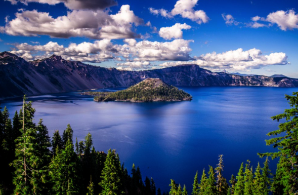 fall camping destinations - crater lake