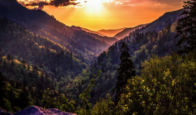 fall camping destinations - great smoky mountains