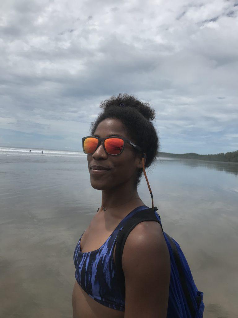 Knockaround Sunglasses Review - katie looking at camera