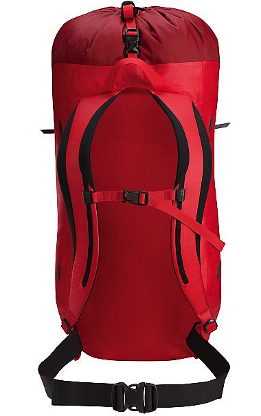 arcteryx alpha fl pack - back