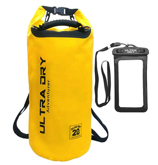 best dry bags for traveling - ultra dry adventurer