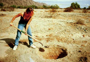 how to get clean water in the wild - dig well