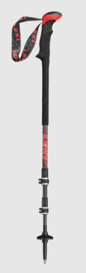 best leki trekking poles - carbon ti