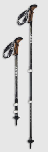 best leki trekking poles - corklite dss