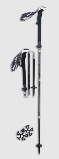 best leki trekking poles - micro vario carbon max