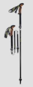 best leki trekking poles - micro vario ti cortec dss