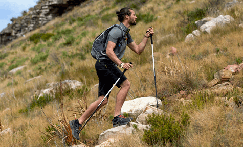 the pros and cons of hiking poles - speed and pace