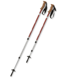 the pros and cons of hiking poles - telescoping poles