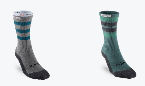 best hiking socks my top picks - injinji