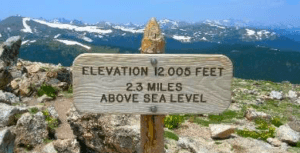 trail ready tips to get into hiking shape - high elevation