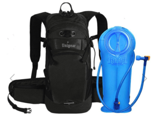 unigear product review - hydration backpack