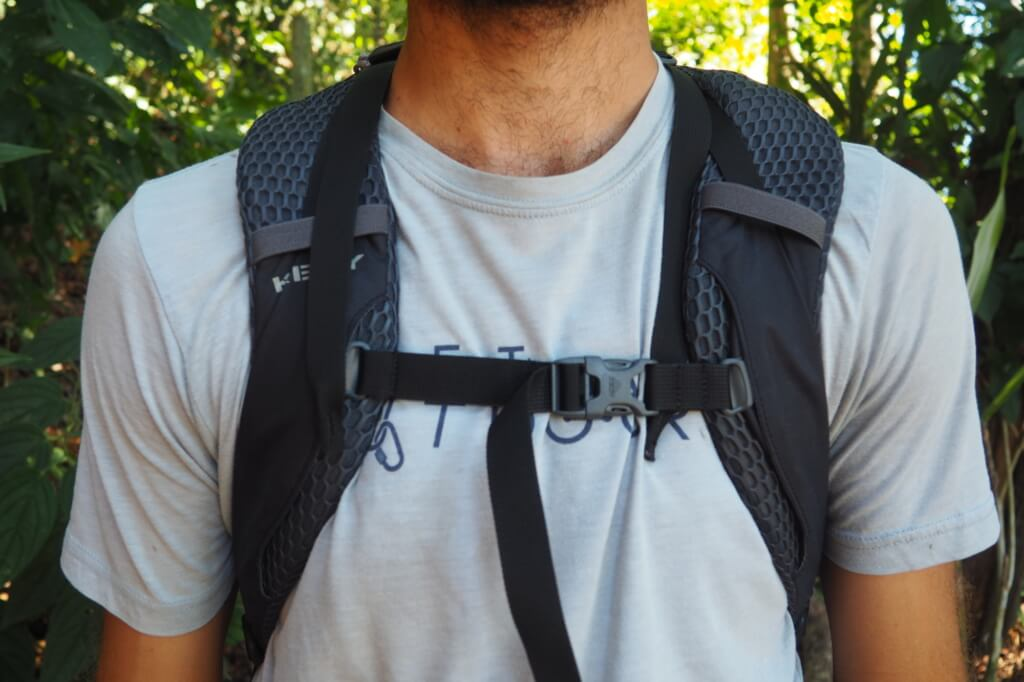 how to put on your backpack properly - after sternum straps tightened