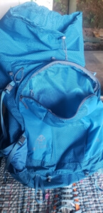 my trail company backpack light 70 - exterior pocket