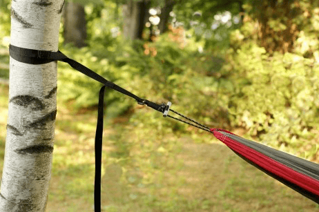 hammock camping gear list - hammock and straps