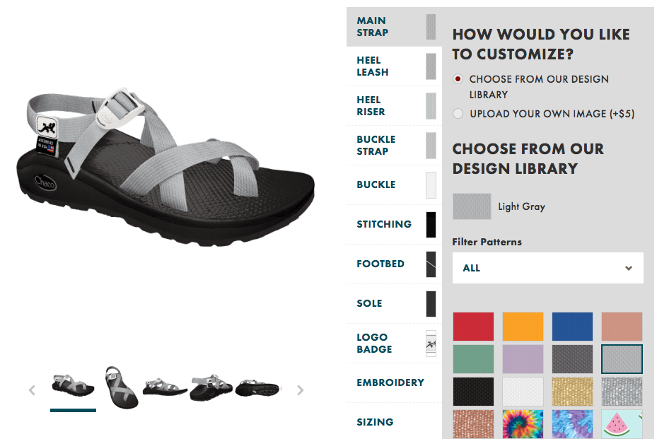 custom chacos introducing print shop - how to use print shop