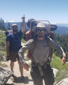 health benefits of backpacking - moving your body