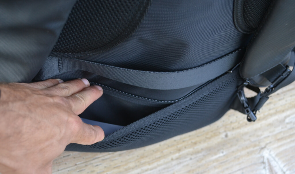 nayo rover new laptop backpack - Hidden Pocket for Sensitive Documents