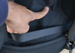 nayo rover new laptop backpack - Strap to Secure to Rolling Suitcase