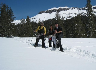 Why You Should Hire a Guide For Your Next Adventure - Snowshoeing with Tahoe Adventure Company