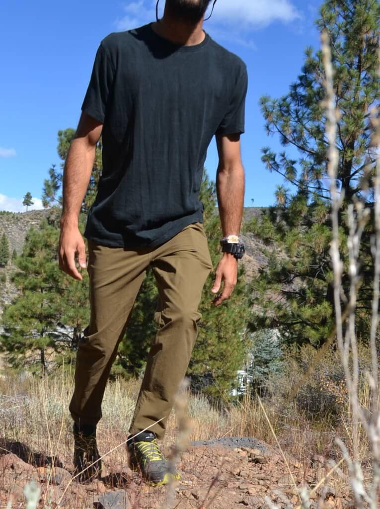 stretchy pants for men kuhl pants - resistor chino pants