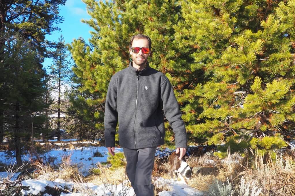 Ariat Outdoor Apparel Review - Ariat Bowdrie Bonded Full Zip Jacket PC Katie Johnita