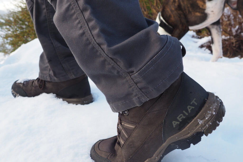 Ariat Outdoor Apparel Review - Ariat Skyline Summit Gore-Tex Boot PC Katie Johnita